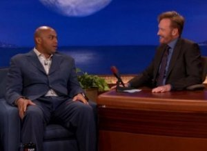 Charles Barkley Obama Conan