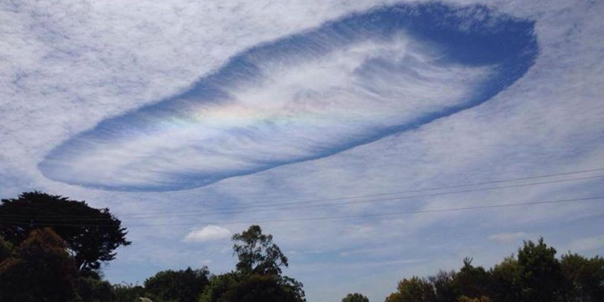 Haarp rainbow clouds