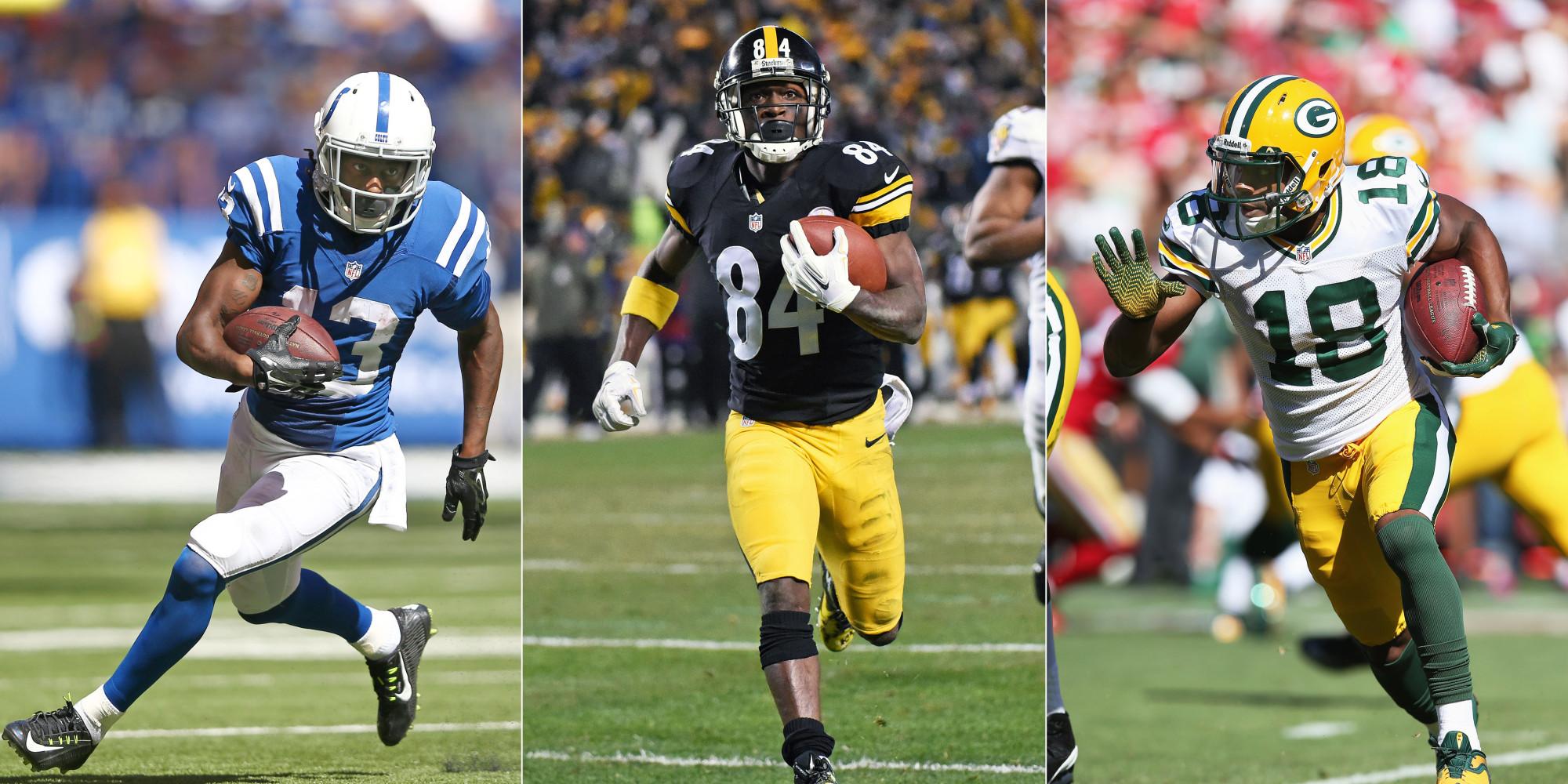 Top 10 NFL Wide Receivers 2014: Megatron Slips And Antonio ...