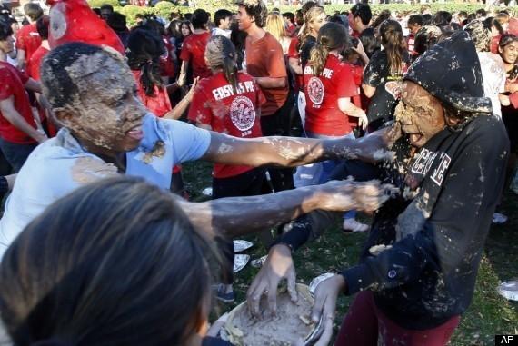 NJ School Pie Fight Sets Guinness World RecordSchool Fight