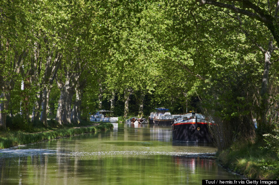 barge trips france