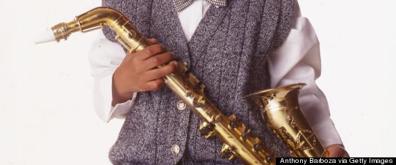 kid saxophone