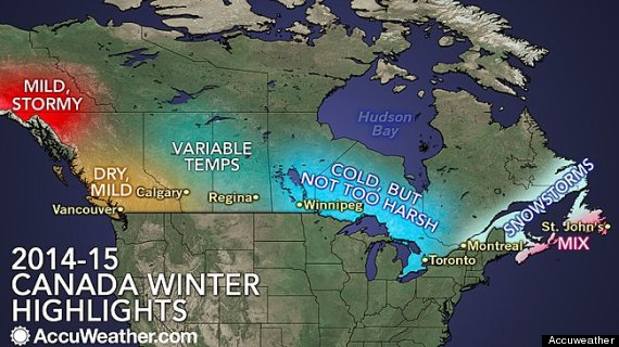 canada winter weather