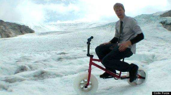 colin furze ice bike