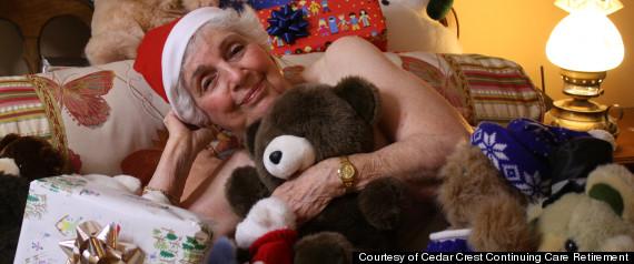 seniors charity calendar