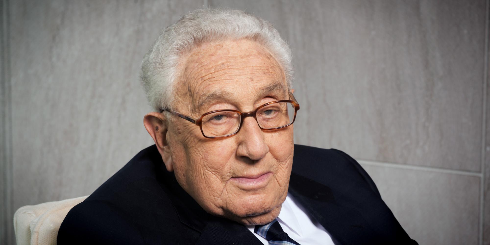 Henry Kissinger.  Credit: Huffington Post