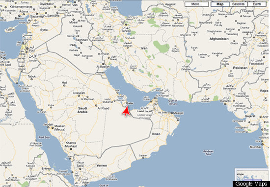 Qatar MAP: World Cup Host Location, Pronunciation | HuffPost
