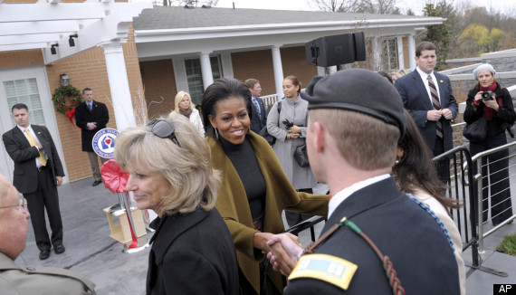 Michelle Obama Fisher House