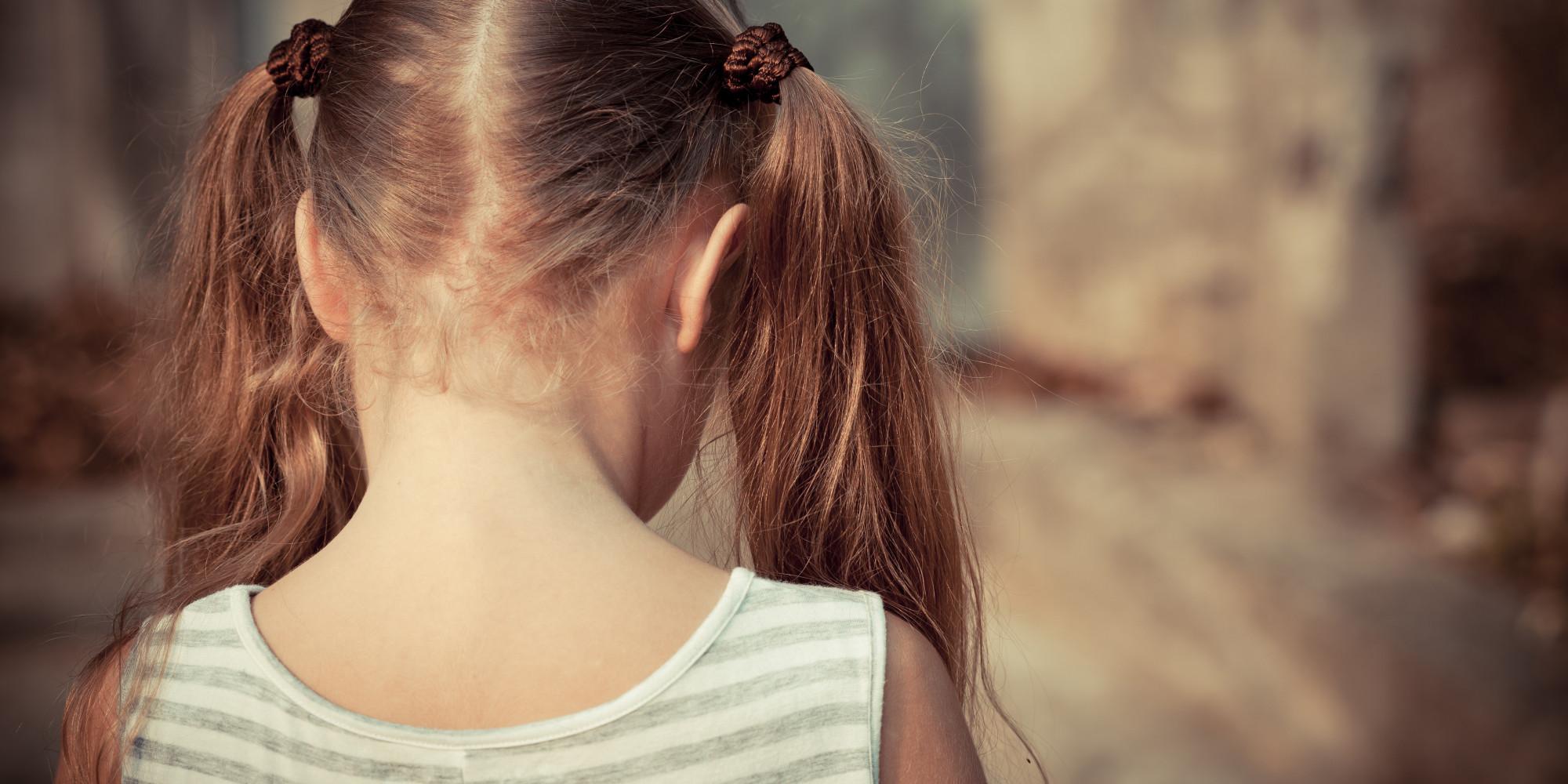 little girl abuse photo