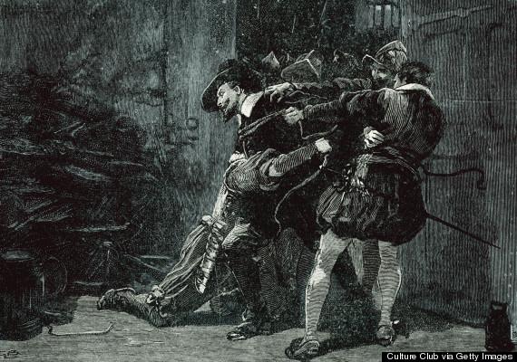 gunpowder plot illustration