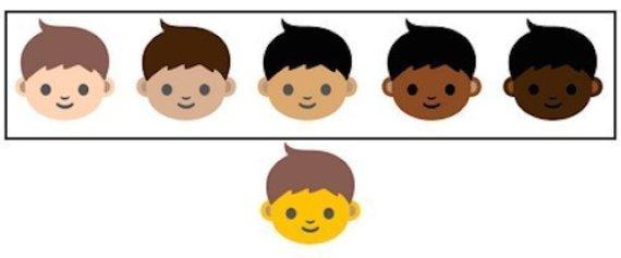 diversité emoji
