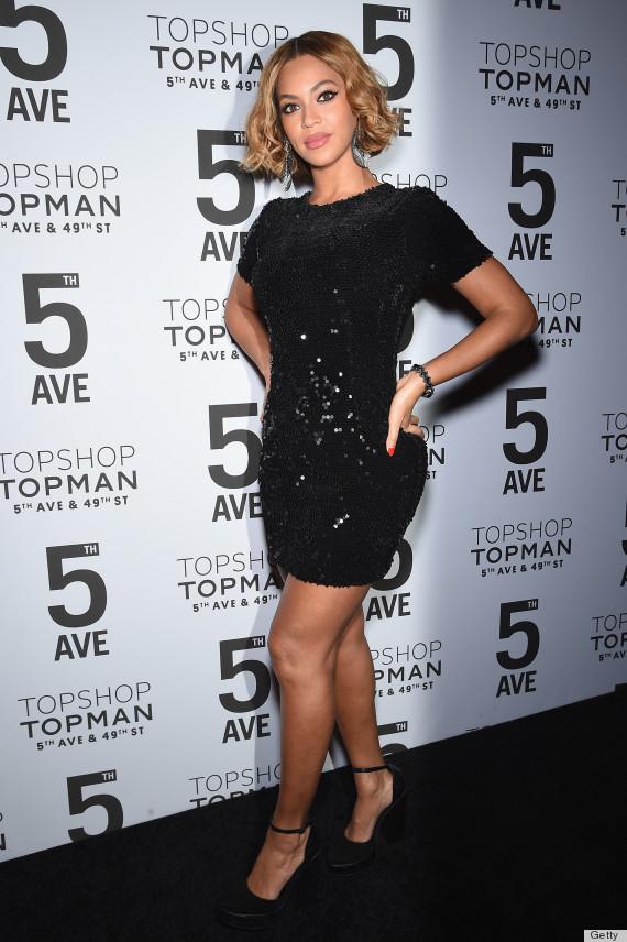 beyonce topshop dress