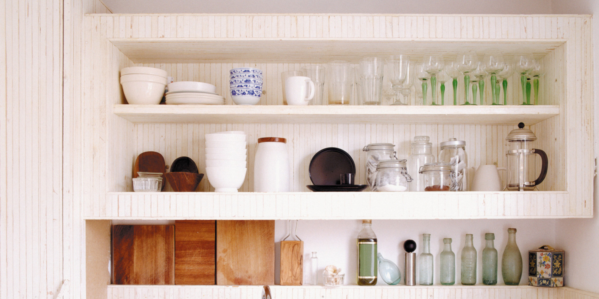 Organized Kitchen The Four Step Solution For Painlessly Organizing A Messy Messy