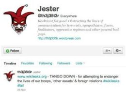 Jester Hacktivist Wikileaks