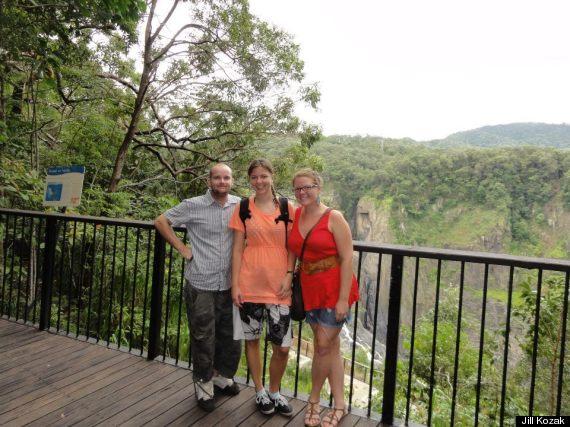 baron gorge falls