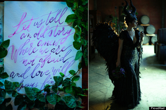 maleficent wedding