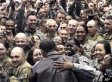 Obama, Troops Cheer Each Other In Afghanistan