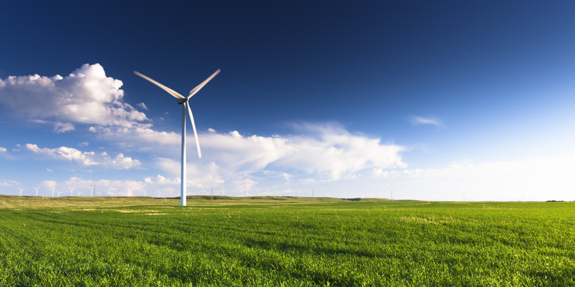 essay on is wind power green