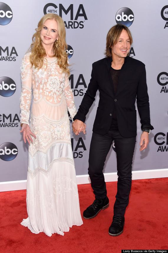 Nicole Kidman Supports Husband Keith Urban At The CMA Awards | HuffPost