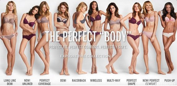 the perfect body vs