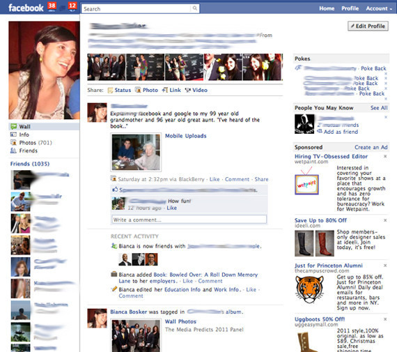 New facebook profiles unveiled pictures see the redesign