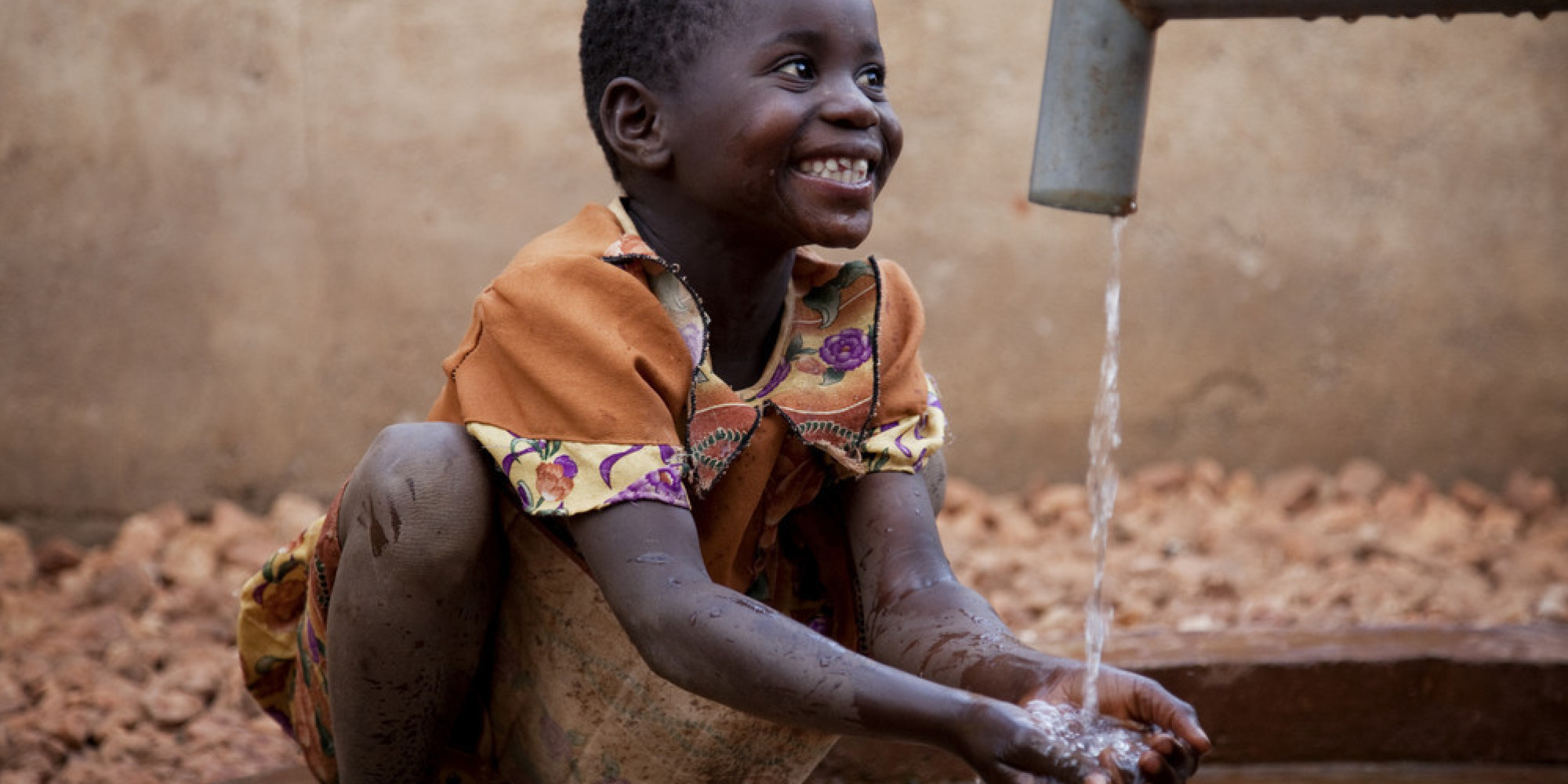 Those Eyes, young Zambian girl relaxing part way through