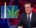 Colbert: If Obama's Presidency Is Up In Smoke After Midterms, It's Only Because D.C. Legalized Pot