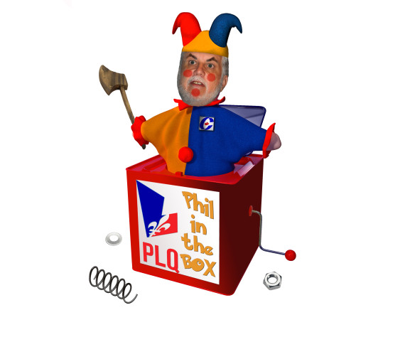 phil in the box
