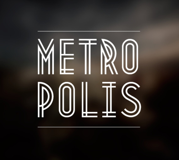 Metropolis 1920 Comes From The Industrial Movement Of 1920s Where Skyscrapers Born A Poetic Description Font Courtesy Australian