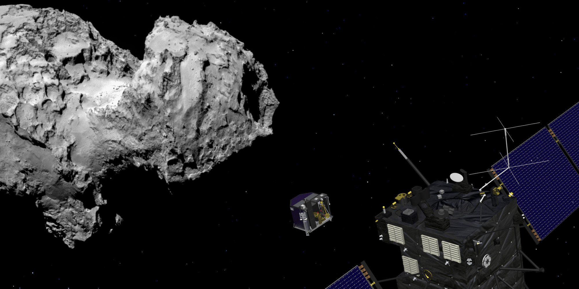 'Rosetta' Comet Mission Makes History (LIVE UPDATES)