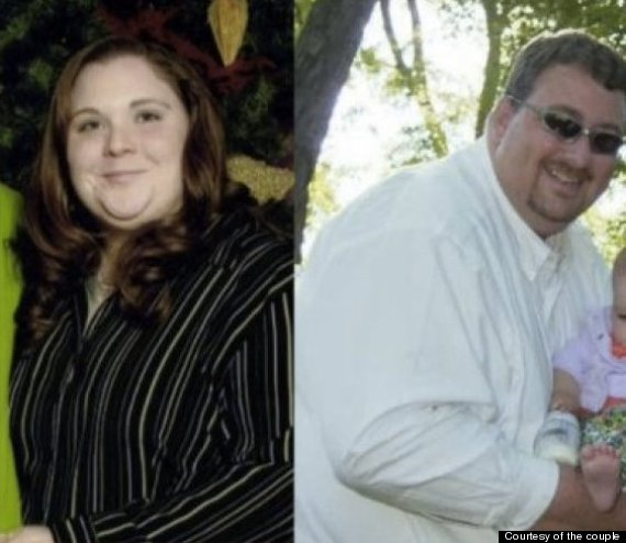 couple lost weight