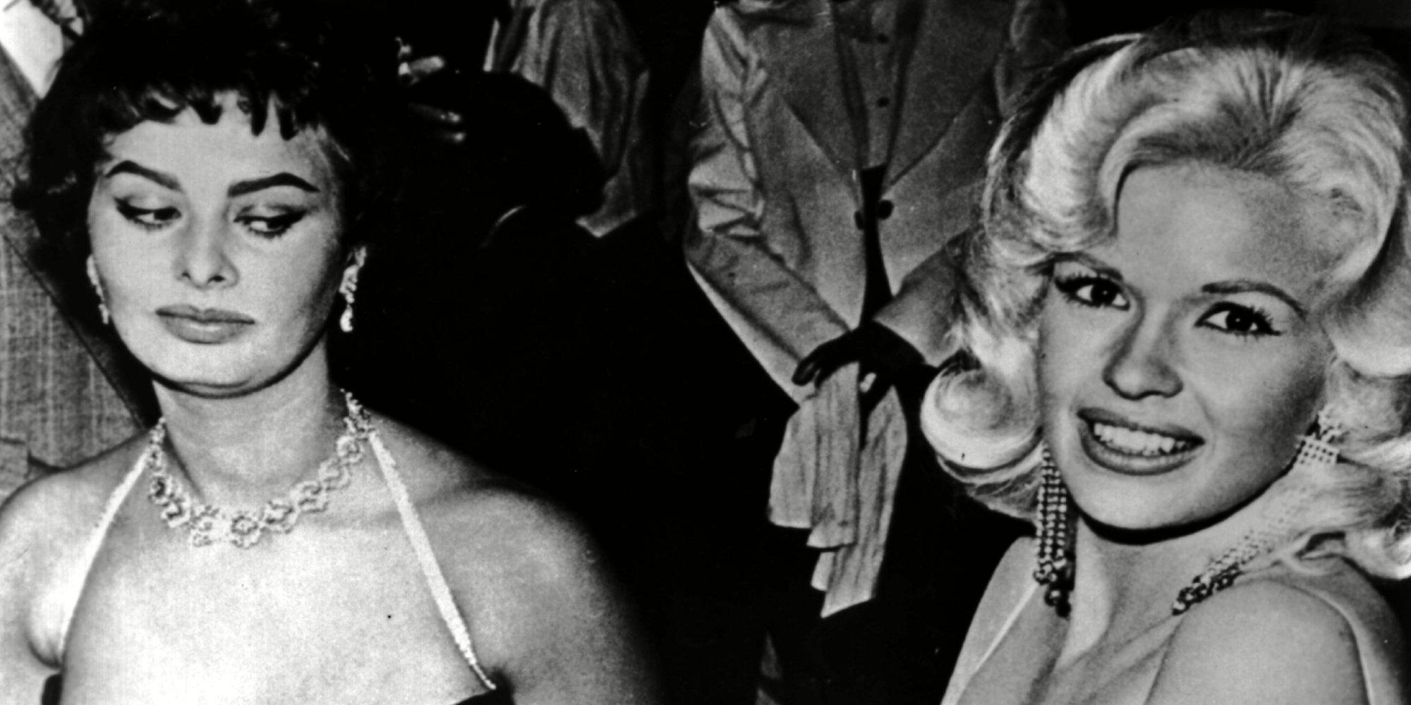Sophia Loren Explains Jayne Mansfield 'Side-Eye' Photo ...