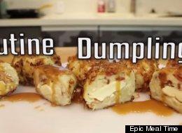 Behold, Poutine Dumplings