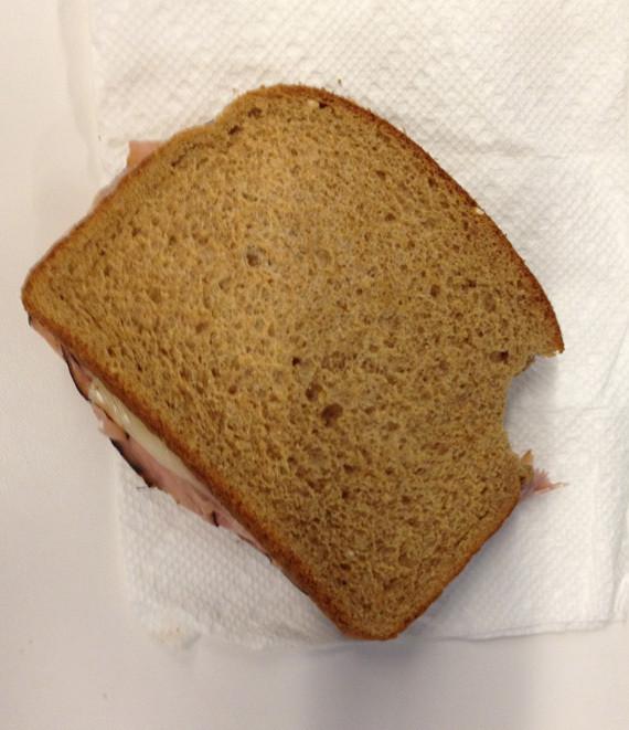 ham sandwich lunch