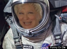 For $5K, Bette Midler Will Carve Your Name Into A Tree On The Moon