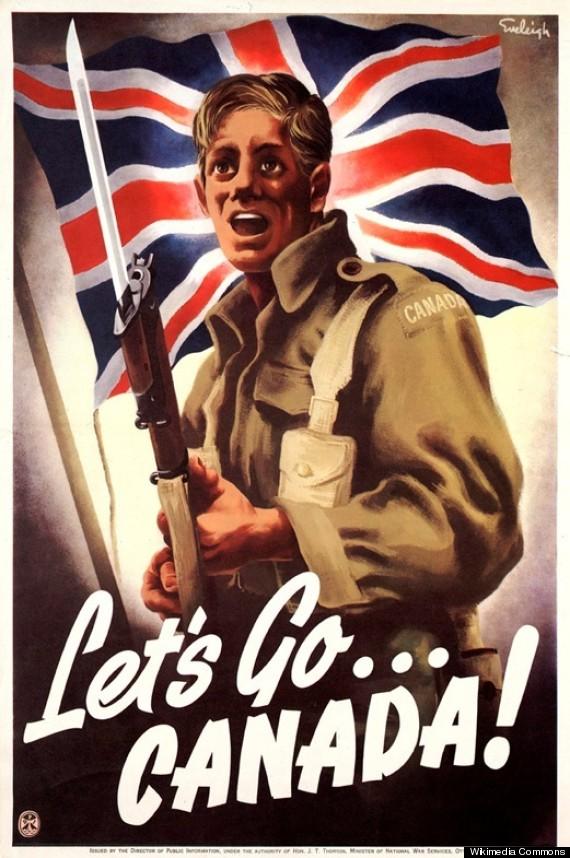 canada propaganda poster