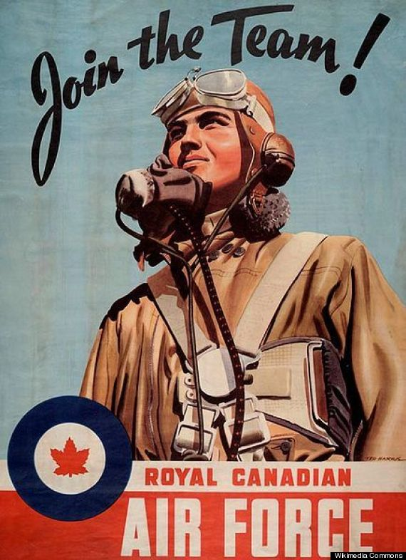 Remembrance Day: 21 Propaganda Posters That Rallied Canadians In Wartime