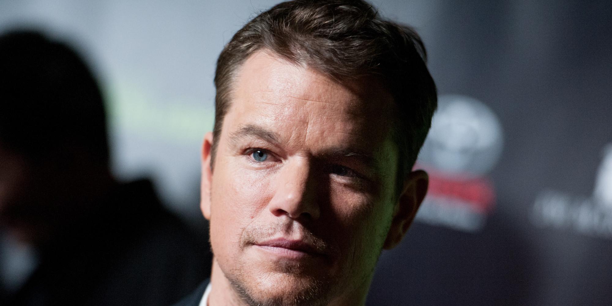 Matt Damon Confirms 'B...