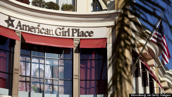 american girl store mall