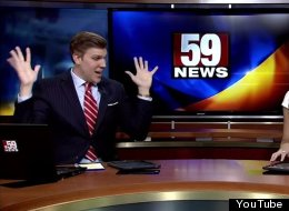 News Anchor Dances To 'Shake It Off', His Co-Anchor Isn't Impressed