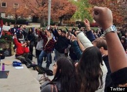 Syracuse University Students Continue Weeklong Sit-In