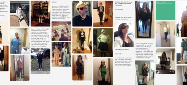 Women Share Photos Of What They Wore When They Got Catcalled
