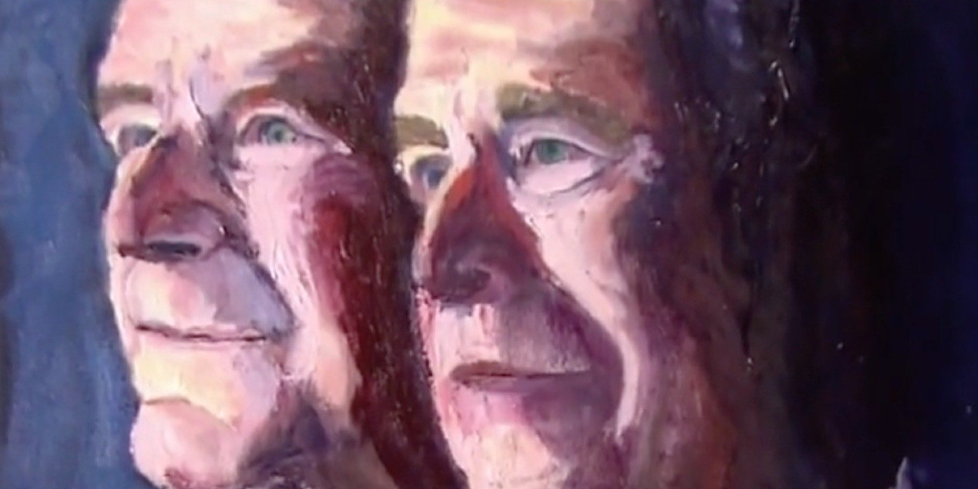 George W Bush Made This Portrait Of His Dad And Himself