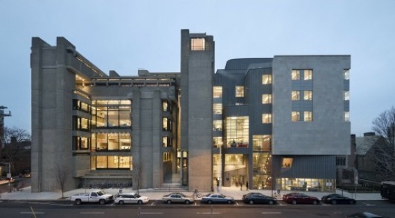 Wonderful Yale Art + Architecture Building. Image © Peter Aaron:Esto. BEST GRADUATE  SCHOOLS
