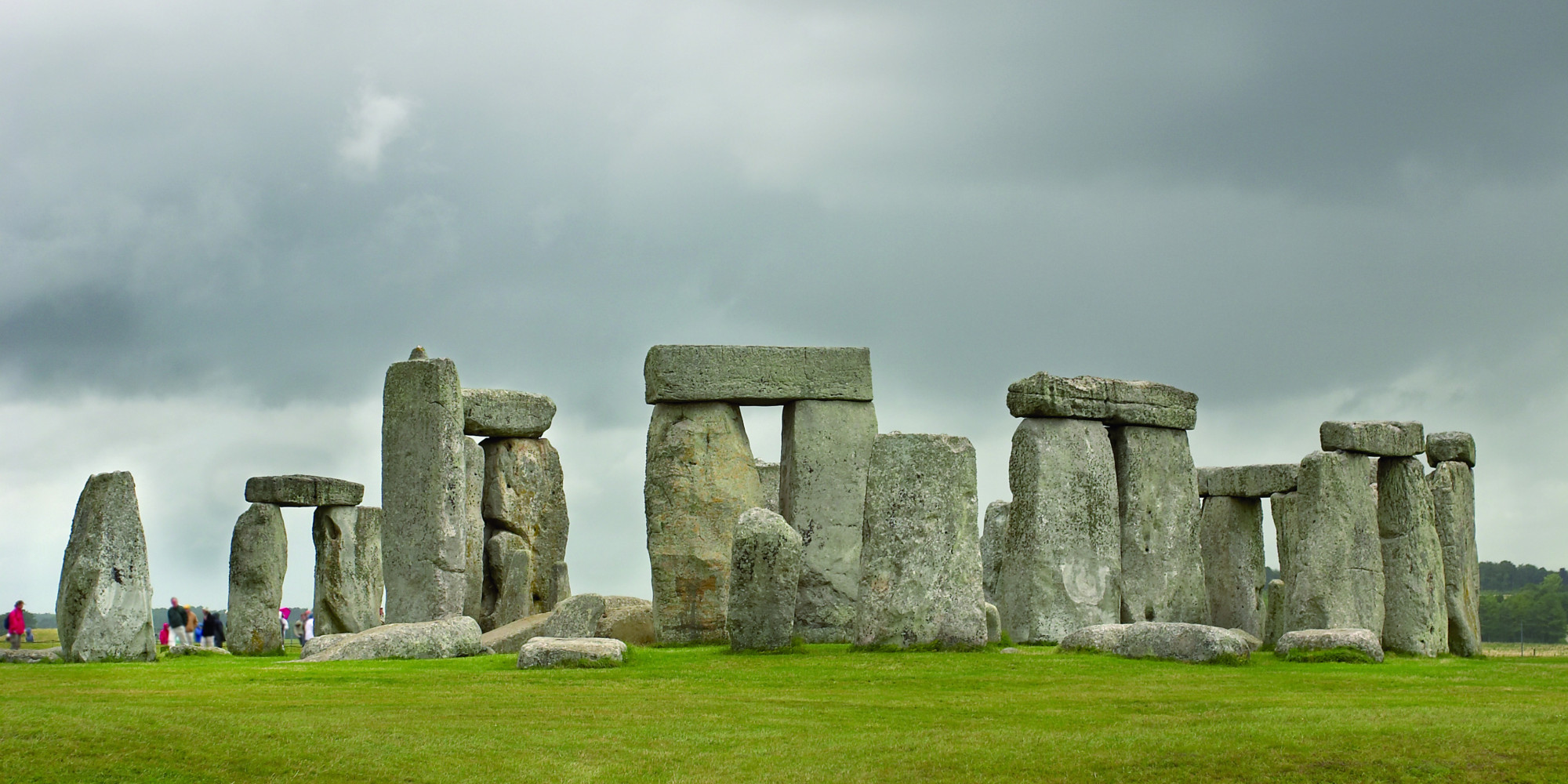 the building of the stonehenge