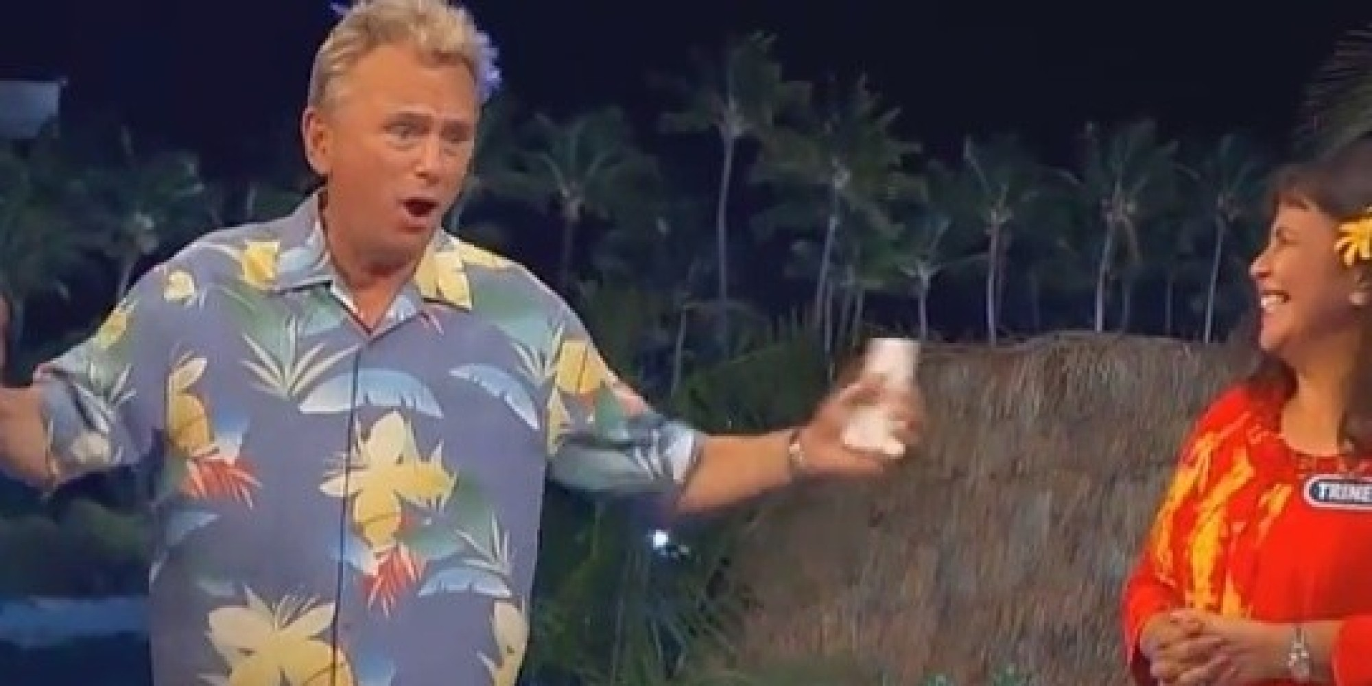 pat sajak suffers epic meltdown stabs contestant and