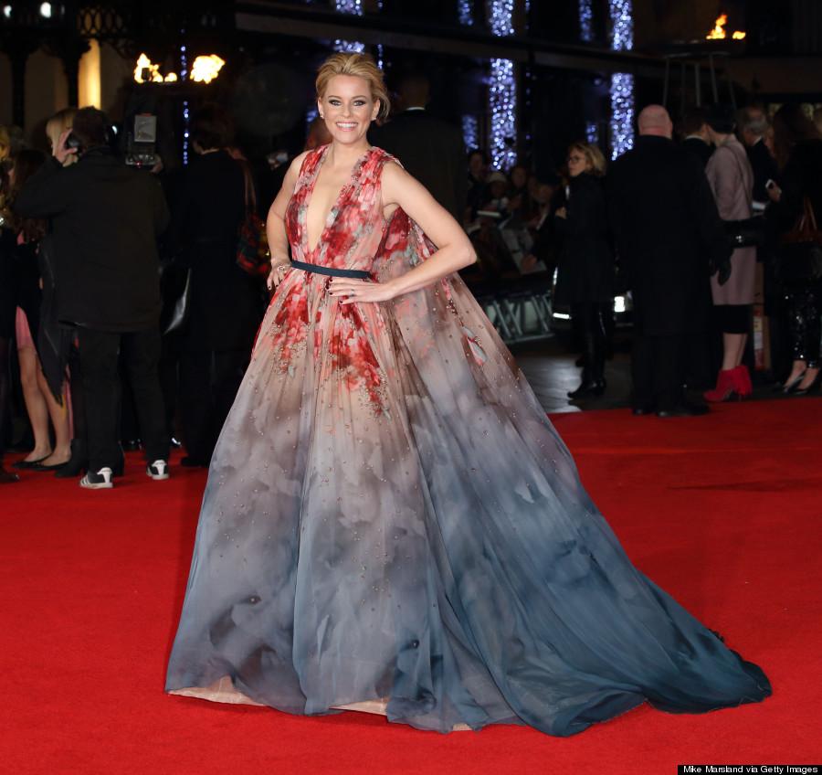 Elizabeth Banks Hunger Games Mockingjay Dress Wins The