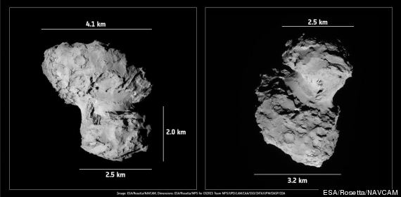 rosetta comet landing tomorrow