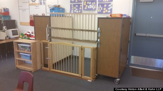 Teacher Locks Special Needs Child Inside Of A Cage In The