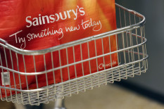 Sainsbury's bag in trolley | Pic: Getty